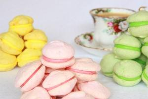 Macaroons can be tricky to make, but are guaranteed source of fun with the kids. Photo / Supplied