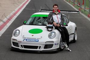 Jono Lester was one of only five drivers from around the world to be selected by Porsche. Photo / Supplied