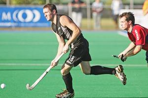 Captain Phil Burrows is the most experienced Black Sticks international. Photo / Getty Images