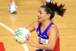 Mystics' captain Temepara George is confident the team will come right. Photo / Martin Sykes