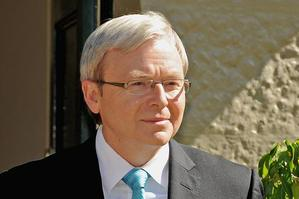 Prime Minister Kevin Rudd. Photo / Supplied