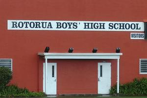 Rotorua Boys' High School. Photo / Rotorua Daily Post