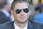 Australian vice-captain Michael Clarke mistakenly said his players would watch footage of 'bondage,' meaning 'Bondy' for NZ's Shane Bond. Photo / Mark Mitchell
