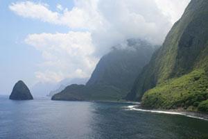 Kalaupapa Peninsula, Molokai. Photo / Jim Eagles