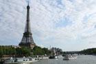 The glorious Eiffel Tower in Paris. Photo / Jim Eagles