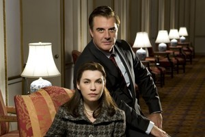 Julianna Margulies and Chris Noth in The Good Wife. Photo / Supplied