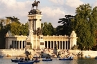 El Retiro covers 140ha of landscaped gardens, lakes and sculptures. Photo / Susan Buckland
