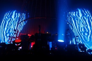 The Chemical Brothers live at Vector Arena in Auckland. Photo / Richard Robinson
