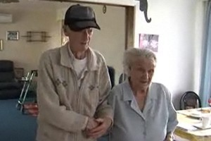 Bert and Pat Archbold have been married almost 77 years. Photo / Supplied