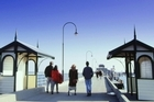 St Kilda beach is only a 10-minute tram ride from the central city. Photo / Tourism Australia