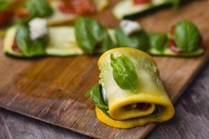 Involtini di Zucchini. Photo / Supplied