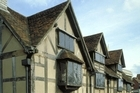 Shakespeare's birthplace, Stratford-upon-Avon. Photo / photolibrary.com