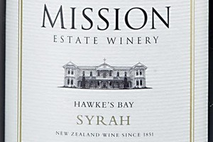 2009 Mission Estate Syrah, Hawke's Bay, $13-18. Photo / Supplied