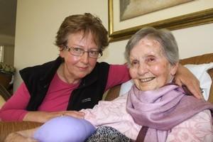 Maria Smith and Lorraine Dunn. Photo / Geoff Sloane