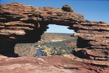 Nature's Window at Kalbarri National Park, Western Australia. Photo / Supplied