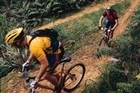 The Hunua Ranges has a variety of mountain-biking trails. Photo / Supplied