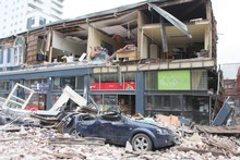 Taxpayers will shoulder a heavy load in the rebuilding of Christchurch. Photo / Geoff Sloan
