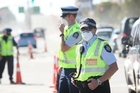Face masks should be worn to avoid breathing in earthquake debris dust. Photo / Greg Bowker