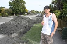 Simon Taylor of Avondale was at Arthurs Pass when the earthquake hit. Photo / Geoff Sloan