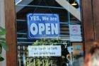 Christchurch - open for business? Photo / nzherald.co.nz Video