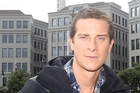 Bear Grylls poses for a photo following a press conference in Auckland. Photo / NZPA