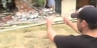 Watch: Christchurch earthquake: Boulders rain down on family homes