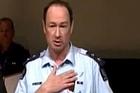 Superintendent Dave Cliff. Photo / Sky News NZ