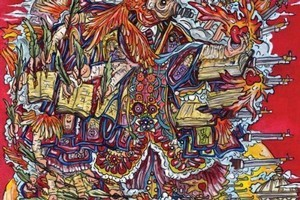 Album cover for False Priest. Photo / Supplied