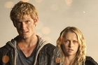 Alex Pettyfer, left, and Teresa Palmer are shown in a scene from the suspense thriller 'I Am Number Four.' Photo / AP