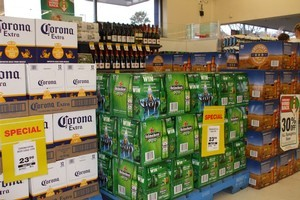 Supermarkets be banned from selling alcohol the Hospitality Association says. Photo / Herald on Sunday