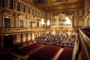 The NZSO practices in Vienna's historic Musikverein. Photo / Supplied