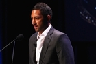 Benji Marshall, seen speaking at the NRL season launch last week, was involved in an early morning altercation. Photo / Getty Images