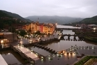 The hilltop city of Lavasa is being built just three hours from Mumbai, and will be a quarter of its size but have only 2 per cent of its population. Photo / Supplied