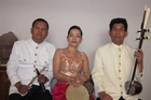 Singer Savy (centre) with Tre So Band. O Cambodia. Photo / Supplied