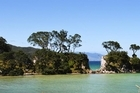 Great Barrier's Tryphena Bay. Photo / Supplied