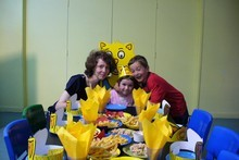 Tamara Cvetanov with Todor, 10, and Katerina, 8. Photo / Supplied