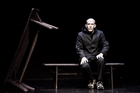 Conor Lovett plays a homeless character in a dramatisation of Samuel Beckett's First Love. Photo / Ros Kavanagh