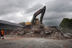 The Country Glen Lodge on Bealey Avenue has already been demolished. Photo / Sarah Ivey