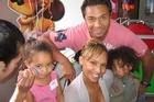Tiara Alatini, Megan Alatini, Pita Alatini and Trey Alatini. Photo / Supplied