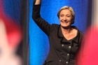 Leader of France's National Front party Marine Le Pen. Photo / AP