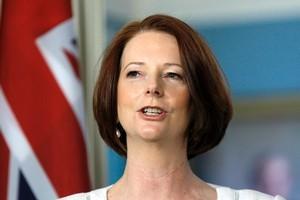 Australian Prime Minister Julia Gillard. Photo / AP