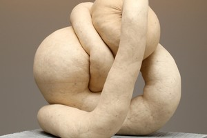 NUD CYCLADIC 1 by Sarah Lucas, Two Rooms Gallery.  Photo / Natalie Slade
