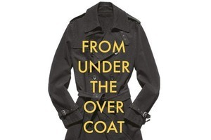 Book cover of From Under The Overcoat. Photo / Supplied
