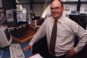 Steven Joyce, pictured in 1999, made his personal fortune from the radio business with RadioWorks. File photo / NZ Herald