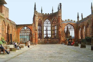 British people chose Coventry Cathedral as their favourite 20th century building.