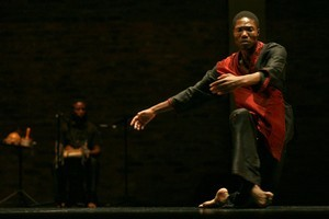 Gregory Maqoma in Beautiful Me. Photo / John Hogg