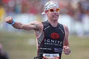Ten-time Ironman New Zealand champ Cameron Brown. Photo / Getty Images