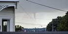 View: Funnel cloud over Auckland