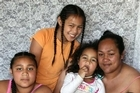 The Manulelua family are living in the garage following the Christchurch earthquake.