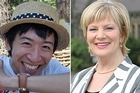 Police have confirmed Haruki Hyakuman, left, and Joanne Giles died in last month's earthquake. Photos / Supplied, Star Canterbury